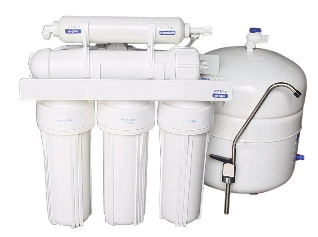 5 Stage Reverse Osmosis System Gx 5050 Under The Sink